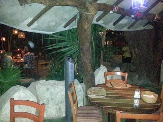 La Cueva del Chango: interno