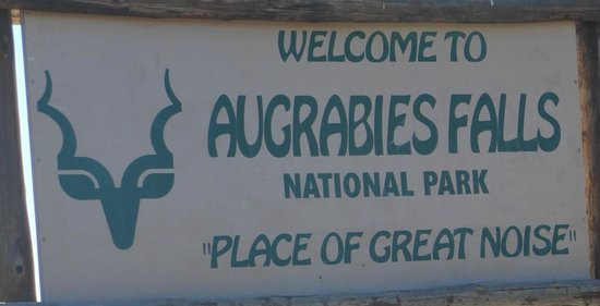 Augrabies Falls National Park: Sign