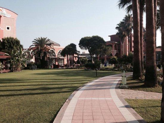 Club Mega Saray : Mega bahçe