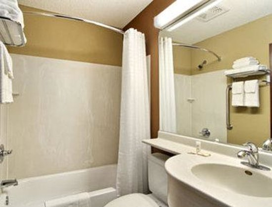 Microtel Inn and Suites by Wyndham Enola/Harrisburg : Bathroom