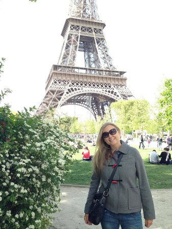 Tour Eiffel : In the park near the tower