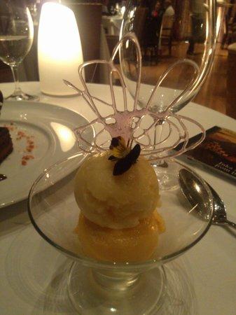Restaurante Hawa: Sorbet Dessert