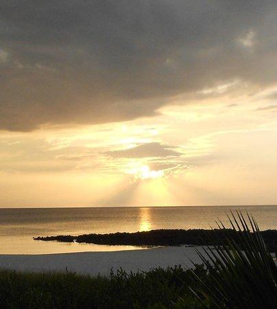 Melia Buenavista: Coucher de soleil de notre balcon