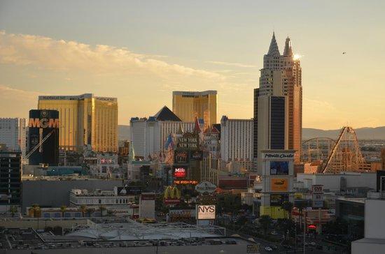 Planet Hollywood Resort & Casino: VISTA DESDE LA HABITACIÓN