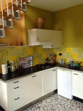Bellaugello: Giardino kitchenette
