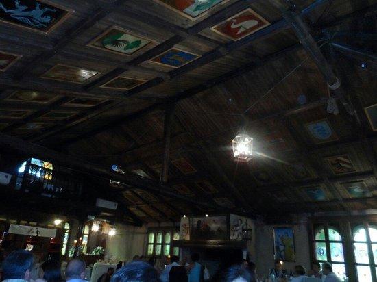 Torre dei Gelsi : Tetto medioevale
