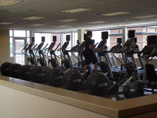 Hilton Baltimore: Part of workout facilities