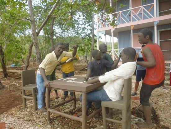 Casa Museo Isleña  : Isleños jugando dominó