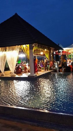 Le Pondy: The decorated wedding venue