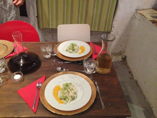 Convivio Rome Italian One Day Cooking Holidays : One of our lovely meals