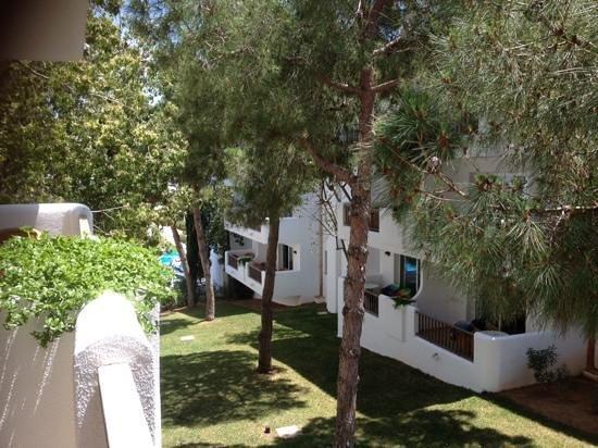 Inturotel Esmeralda Park: Blick von unserem ruhigen Balkon