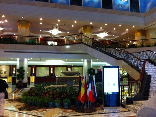 Prime Hotel: reception
