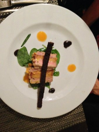 La Gargotte : Foie gras avec mandarine