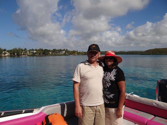 Club Med La Pointe aux Canonniers : Speed-boat trip to L'ile Aux Cerfs