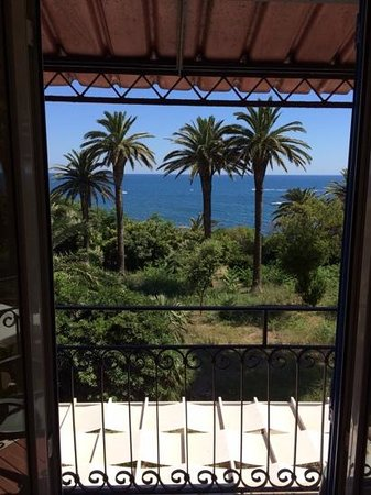 Hotel L'isola: A view from room 104