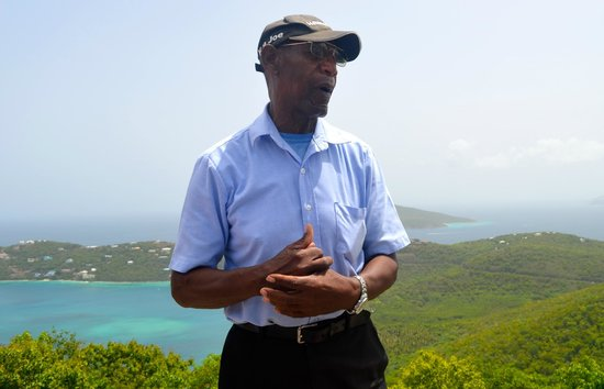 Bluebeard's Castle Resort : Cab driver K-9 Joe gives the BEST island tour.