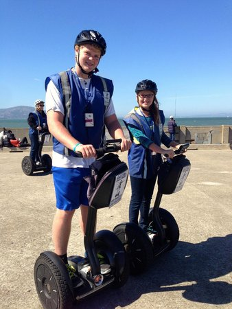 Electric Tour Company Segway Tours: On the pier