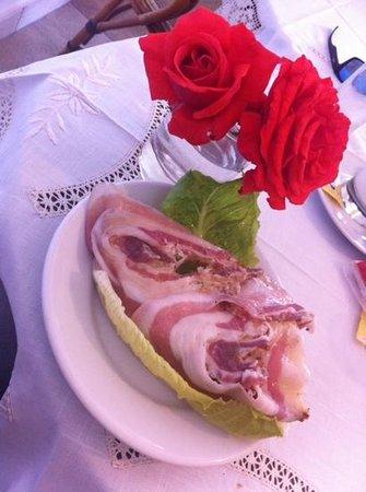 Nido Verde: La famosa pancetta...