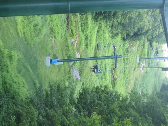 Old Forge Camping Resort: Chair lift at the ski resort