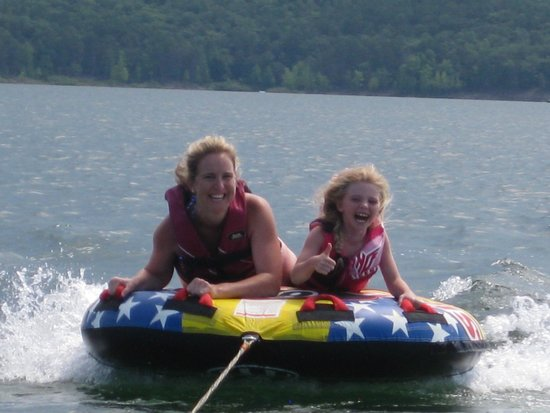 Greers Ferry Lake: Tubing on  Greer's Ferry Lake