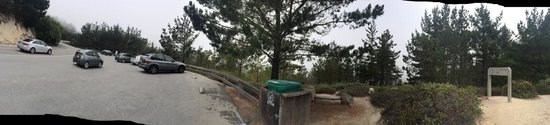 17-Mile Drive : Pano view if huckleberry hill
