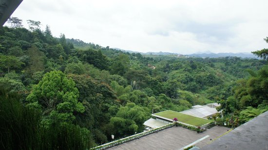 Padma Hotel Bandung: view from the restaurant