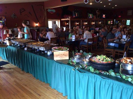 Timber Creek Bar & Grill: The Sunday buffet at Timbercreek Restaurant in Louisburg, KS