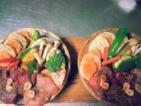Yumesaki-tei: Food
