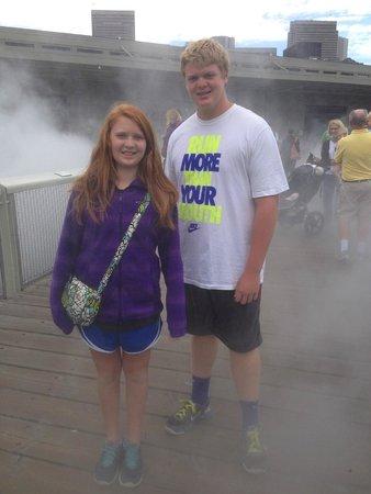 The Exploratorium : fog bridge