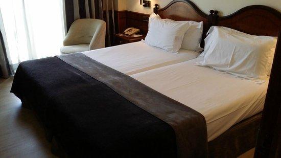 Silken Rio Hotel: Camas muy comodas