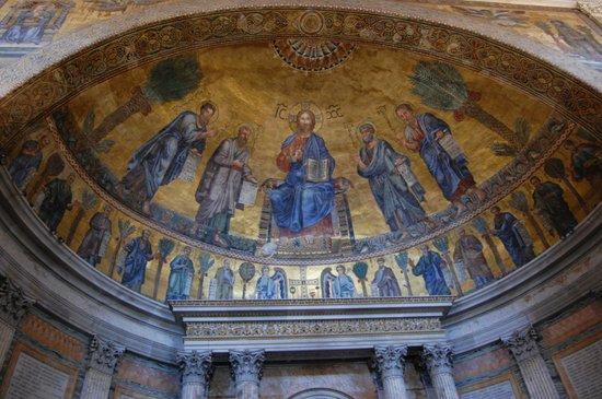 Abbazia di San Paolo fuori le Mura : Jesus and the disciples