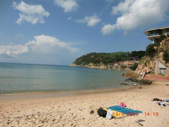 Spiaggia della Biodola : Mare stupendo