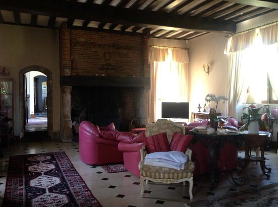 Manoir de Neuville : Main room