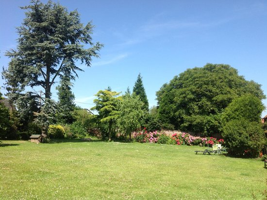 Manoir de Neuville : Beautiful spacious garden
