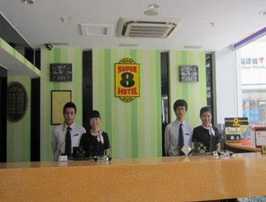 Super 8 Fuzhou Wuyi Road: Front Desk