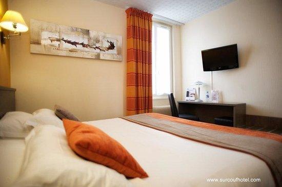 Brit Hotel Le Surcouf : Room Hotel St Malo, Surcouf Hotel