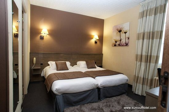 Brit Hotel Le Surcouf : Twin Room , Surcouf hotel , Saint-Malo