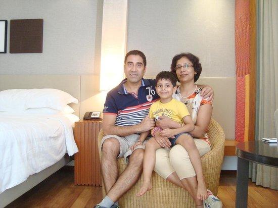 Hyatt Amritsar: In the room