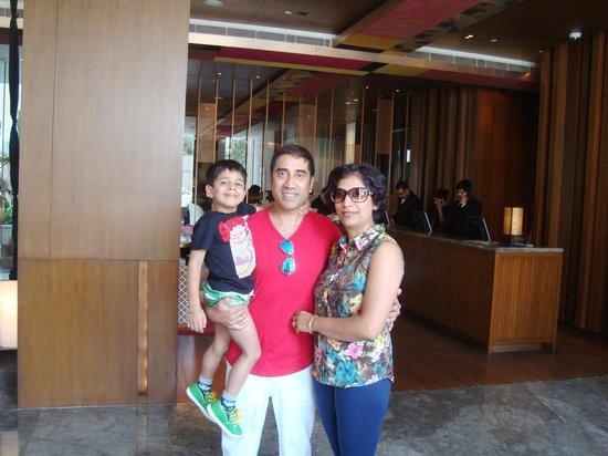 Hyatt Amritsar : In the lobby