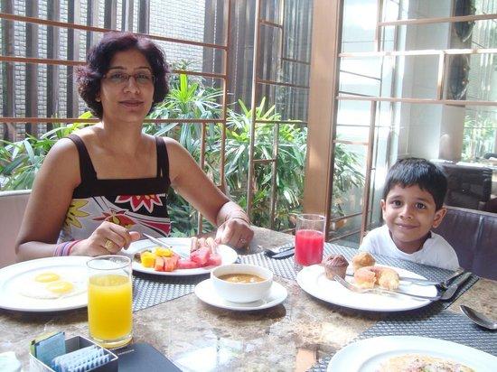 Hyatt Amritsar: Restaurant