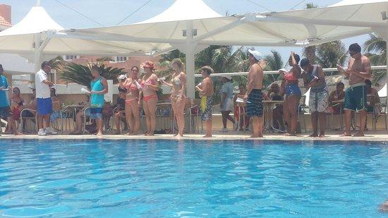 Omni Cancun Resort & Villas: Crazy game with Antonio ��