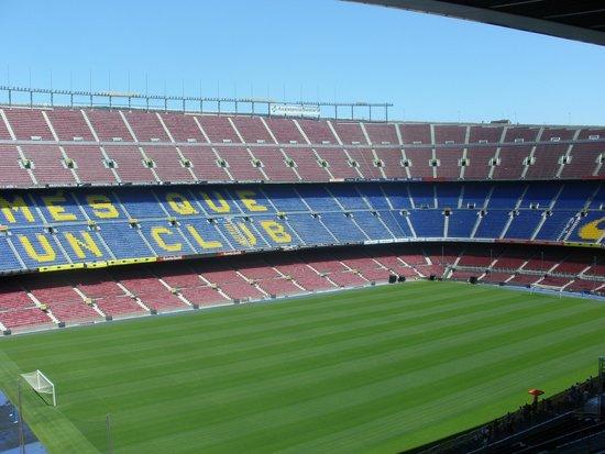 El Camp Nou: .