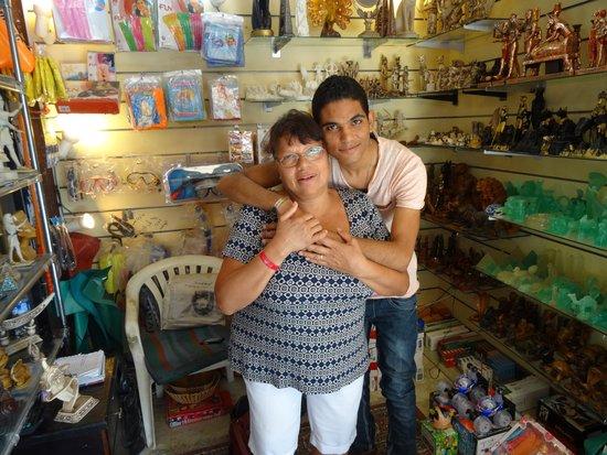 Sunrise Select Garden Beach Resort & Spa: Our favourite shopkeeper