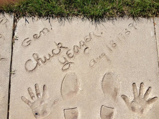 Fargo-Moorhead Visitors Center : Chuck Yeager