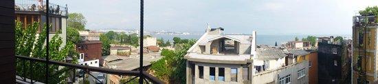 Hotel Sebnem: rooftop panorama