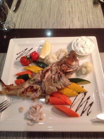 Park Regis Kris Kin Hotel: Fish, ramadan set menue