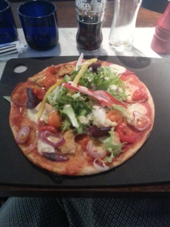 My Pollo Ad Astra Picture Of Pizza Express Blackpool