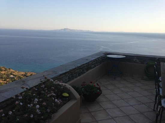 Aegean Castle : View from the main outdoor floor
