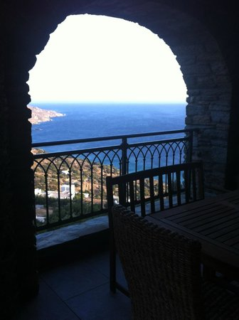 "Aegean Castle: View from our ""balcony"""