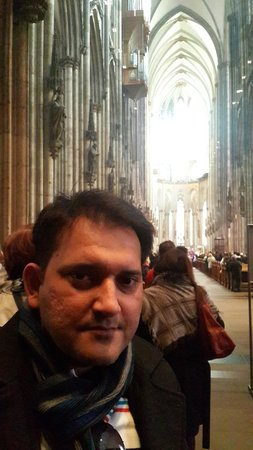 Kölner Dom: Inside the Cologne Cathedral March, 2014